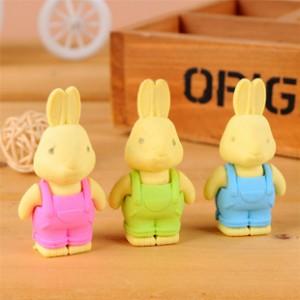 可愛兔子橡皮擦 可拆式橡皮擦 造型橡皮擦