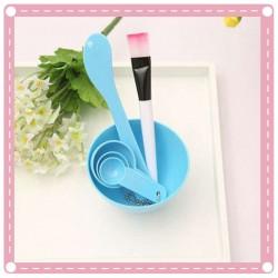 DIY面膜必備美容組合工具(面膜碗+棒+刷+計量器)四合一