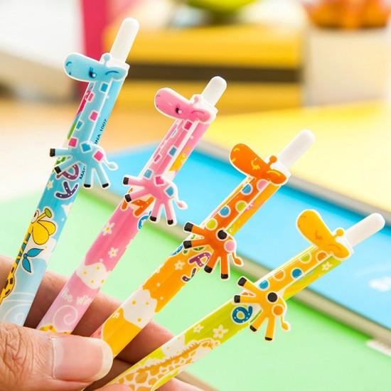 可愛長頸鹿原子筆