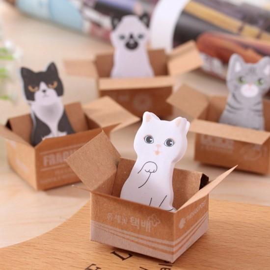 可愛貓咪小巧N次貼 便條貼 便條本 便利貼