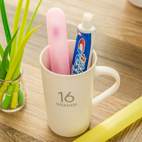 旅行攜帶式牙刷盒 牙刷套 衛生牙刷盒 防菌衛生