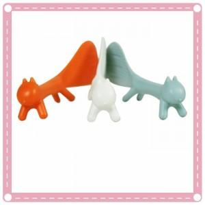 可愛造型松鼠飯匙 可站立造型飯匙