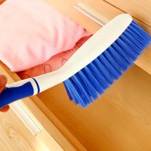 防滑橡膠清潔刷 除塵刷子 有炳刷