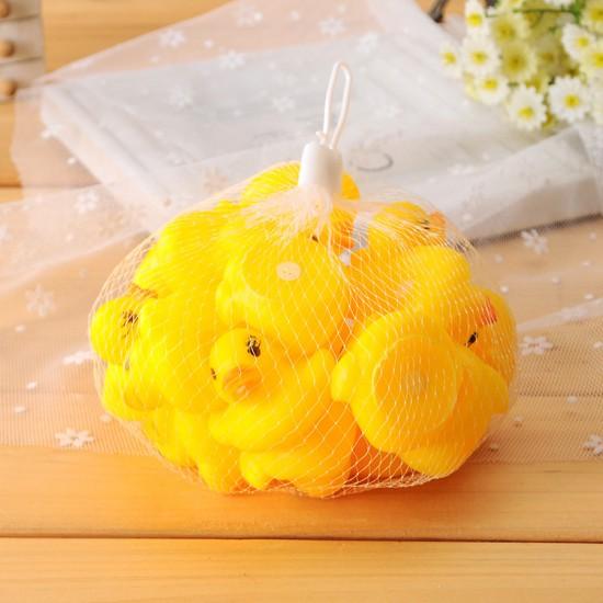 (5入)洗澡戲水黃色小鴨 幼兒早教益智玩具 發聲玩具