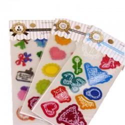 可愛圖案貼紙 日記裝飾貼紙 PVC貼紙 10張入