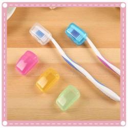 旅行必備牙刷收納套 牙刷頭套 牙刷盒 5入裝