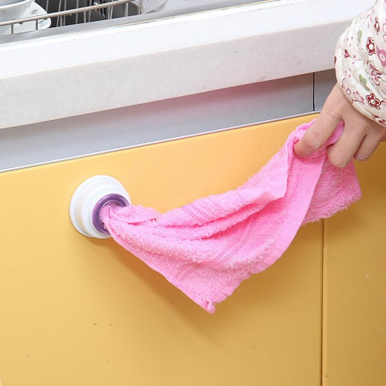 超方便抹布收納掛勾 實用毛巾收納掛勾