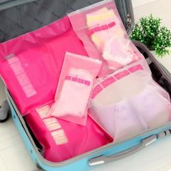 衣物戶外旅行收納袋 透明整理包旅行衣物鞋子收納袋批發 旅行收納袋批發