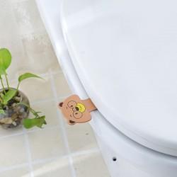可愛動物馬桶蓋衛生翻蓋器 可愛不髒手揭開馬桶蓋