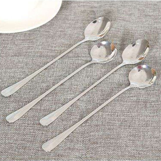 創意不銹鋼長柄湯匙 咖啡攪拌湯匙 長湯匙