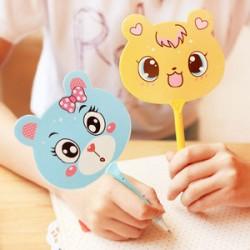 動物扇子造型圓珠筆 文具用品 原子筆