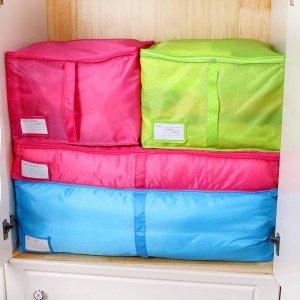 多色衣物棉被收納袋 分裝收納袋 內衣襪子衣服收納袋