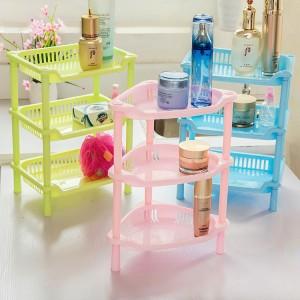 浴室置物架 塑膠三層收納架 廚房置物架