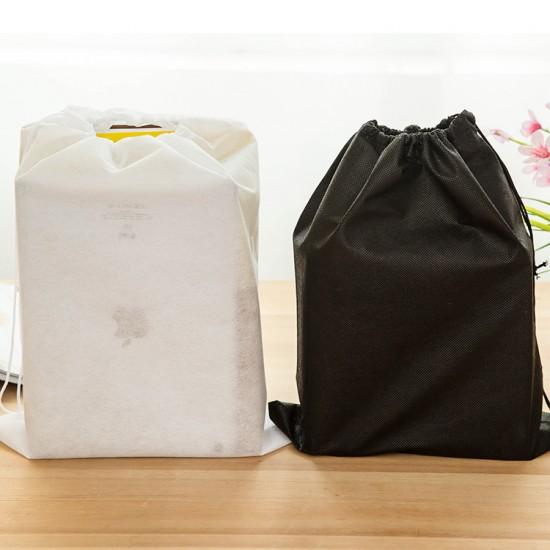 無紡布收納袋 旅行必備 抽繩收納鞋袋 束口收納袋