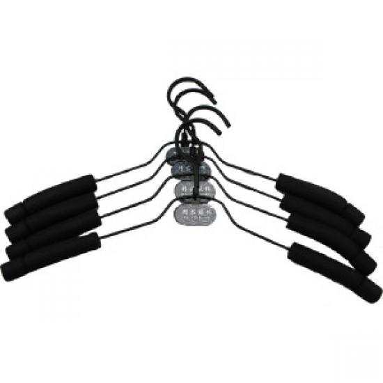(10入)海綿防滑衣架 服裝店必備 衣服防勾傷衣架