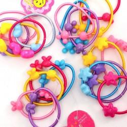 造型兒童髮束50條入  糖果色米奇髮圈 甜美造型兒童髮飾
