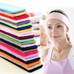 糖果色運動瑜伽毛巾髮帶 吸汗頭巾 髮箍