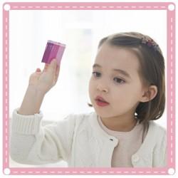 (10入)迷你花朵爪夾 兒童髮飾 磨砂兒童瀏海夾