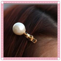 (2入)珍珠造型髮夾 一字夾 小鴨夾 瀏海髮夾  髮飾 飾品