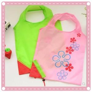 大號草莓購物袋 環保袋 折疊收納手提袋