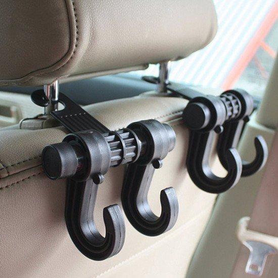 汽車掛鉤 車用掛鉤 創意雙掛鉤 汽車用品