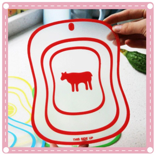 切菜板 塑膠切水果板 超薄砧板
