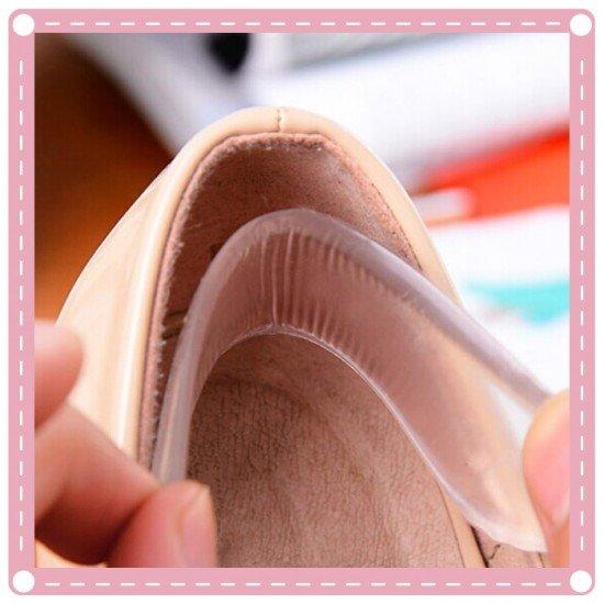 矽膠後根貼1對入 加厚防磨腳 隱形透明後跟貼