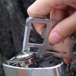多功能萬用軍刀卡 瑞士工具卡 救生卡