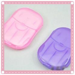 方便攜帶 洗手肥皂片 香皂紙 20片裝