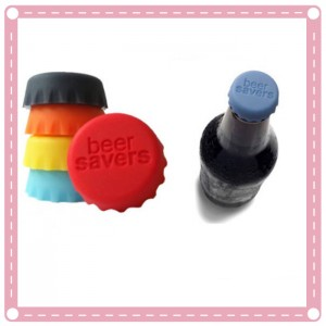 糖果色矽膠保鮮酒瓶蓋 保鮮蓋 6入裝