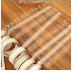 DIY透明蕾絲膠帶 裝飾膠帶
