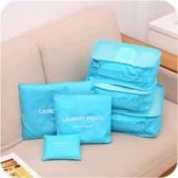 旅行收納6件組 出差 旅行 居家 收納 包中包 整理袋 萬用包 多功能 防潑水