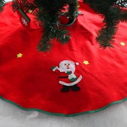 90cm聖誕樹裙 聖誕無紡布樹裙 聖誕樹圍裙 聖誕樹裝飾品