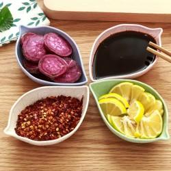 小麥調味料碟 小吃沾醬碟 餐桌小盤子 廚房小物 醬醋碟 小菜碟