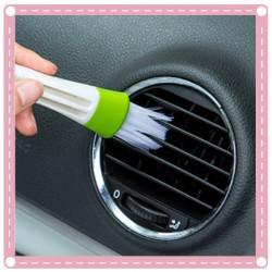 空調出風口雙頭清潔刷子 汽車空調軟毛刷
