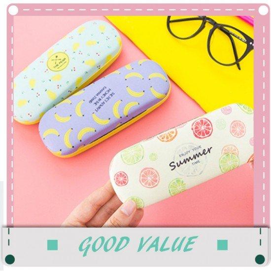 創意水果抗壓眼鏡盒 小清新太陽眼鏡收納盒