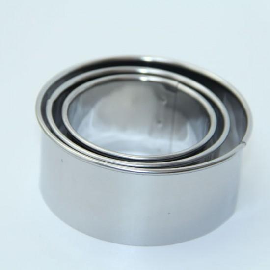 廚房不銹鋼切餃子皮模型 壓餃子皮神器  餛飩皮模具