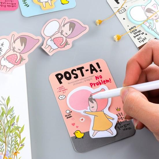 卡通小紅帽N次貼 便利貼 便簽本 便條