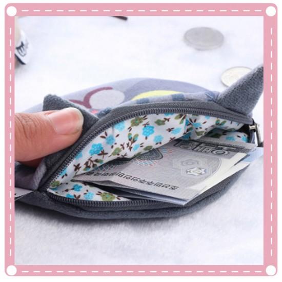 可愛卡通貓咪零錢包 創意錢包 喵星人零錢包 硬幣包