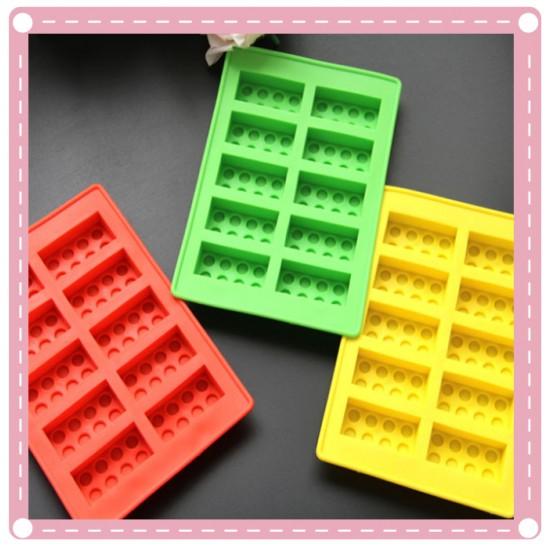 積木冰塊模 造型矽膠冰格 製冰器 製冰盒 冰塊模具