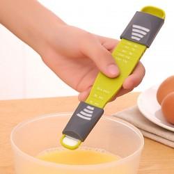 9格烘焙計量勺 雙邊刻度定量勺 DIY工具 烘焙烹飪必備