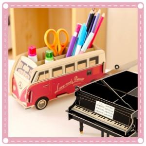 創意DIY筆盒收納盒 辦公桌桌面文具鉛筆盒收納架