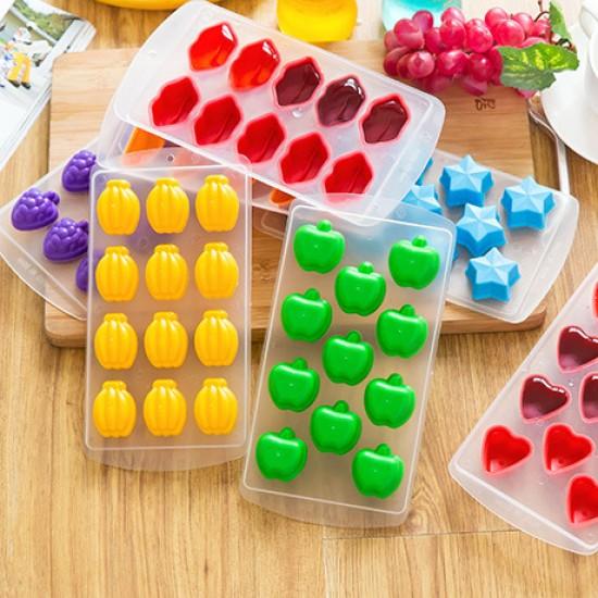 可愛水果模型DIY製冰盒 冰棒 冷飲 冰淇淋