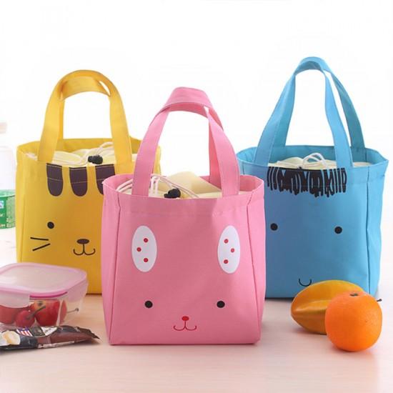 動物便當袋 保溫手提包 小貓保冷袋