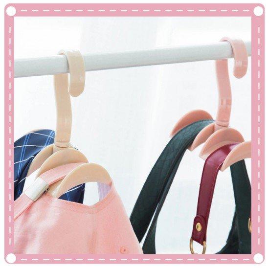 包包收納掛勾 衣櫃免釘掛架 創意領帶架 包包架 帽子架