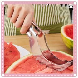 不銹鋼切西瓜神器 水果刀 創意西瓜切片器