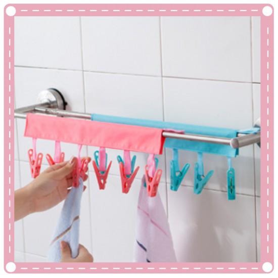 隨身旅行衣夾 可折疊便攜衣架 浴室掛架