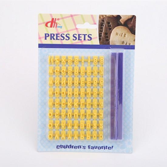 英文字母數字符號印章餅乾模 活字印刷蛋糕烘焙工具 餅乾模