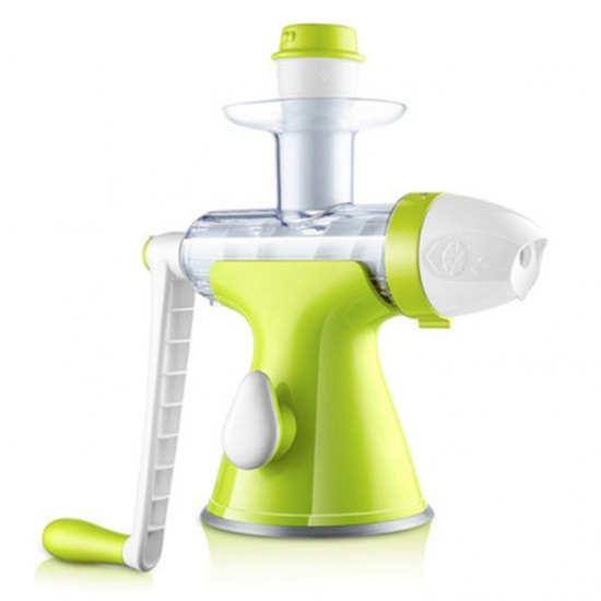 家用手動蔬果原汁榨汁機 多功能水果榨汁機 迷你手搖式冰淇淋機