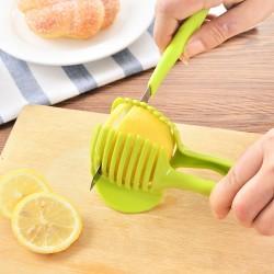 廚房切檸檬神器 裝飾拼盤切片器 水果夾子切片小工具